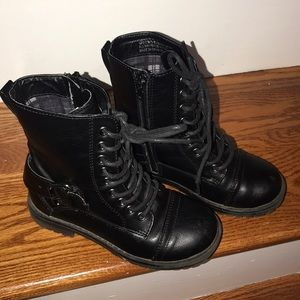 Like new girls Rampage combat boots